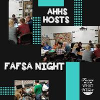 AHHS Hosts FAFSA Night