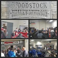 Hard Hat Club Visits Woodstock Harley-Davidson