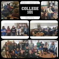 A-H Alumni Return to Host Discussion  About College Experiences