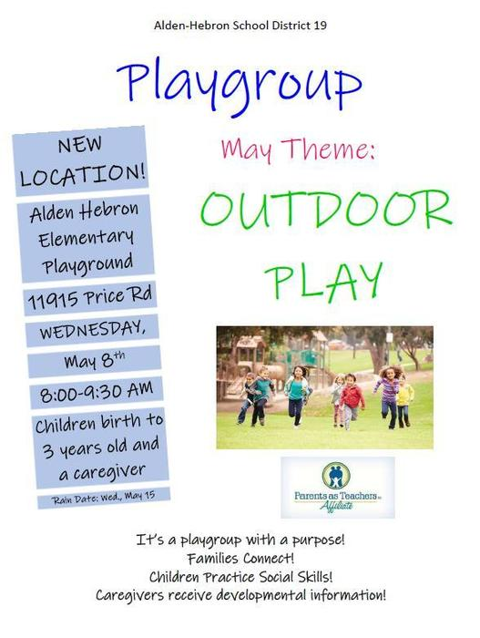 Playgroup May 8th