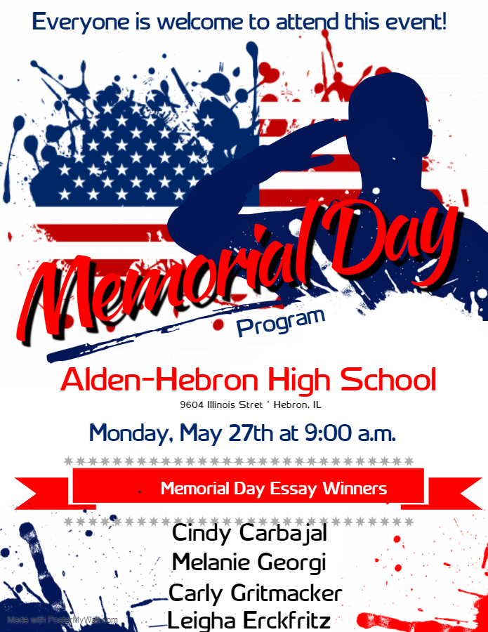 updated memorial day