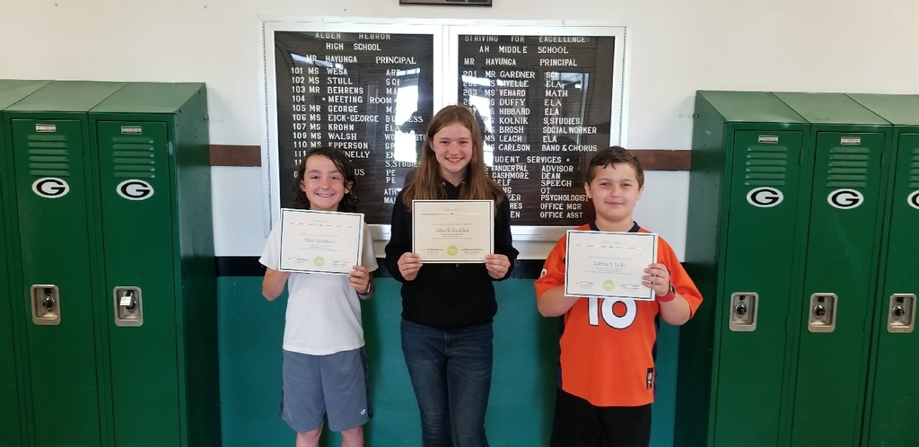 6th grade high honor roll