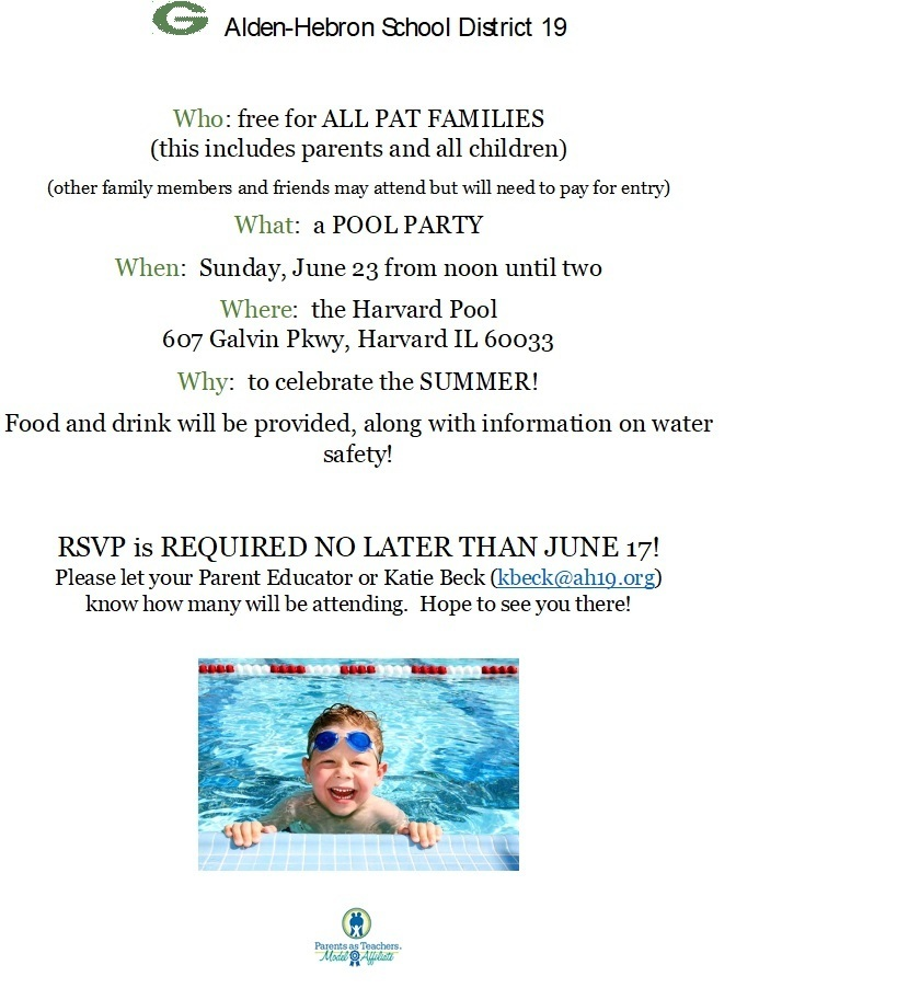 Pool Party June 23rd!