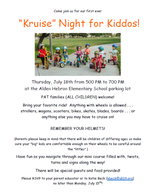 Kruise Night for Kiddos