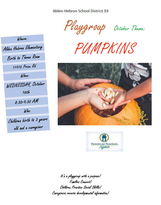 Playgroup Pumpkins