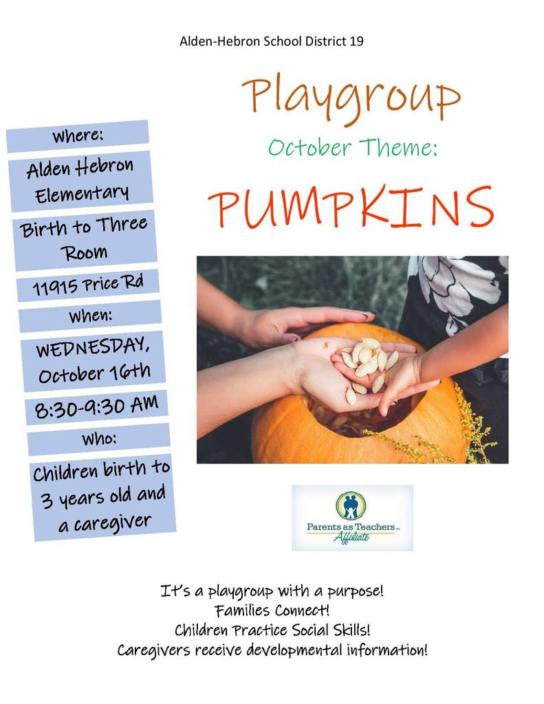 October Play Group