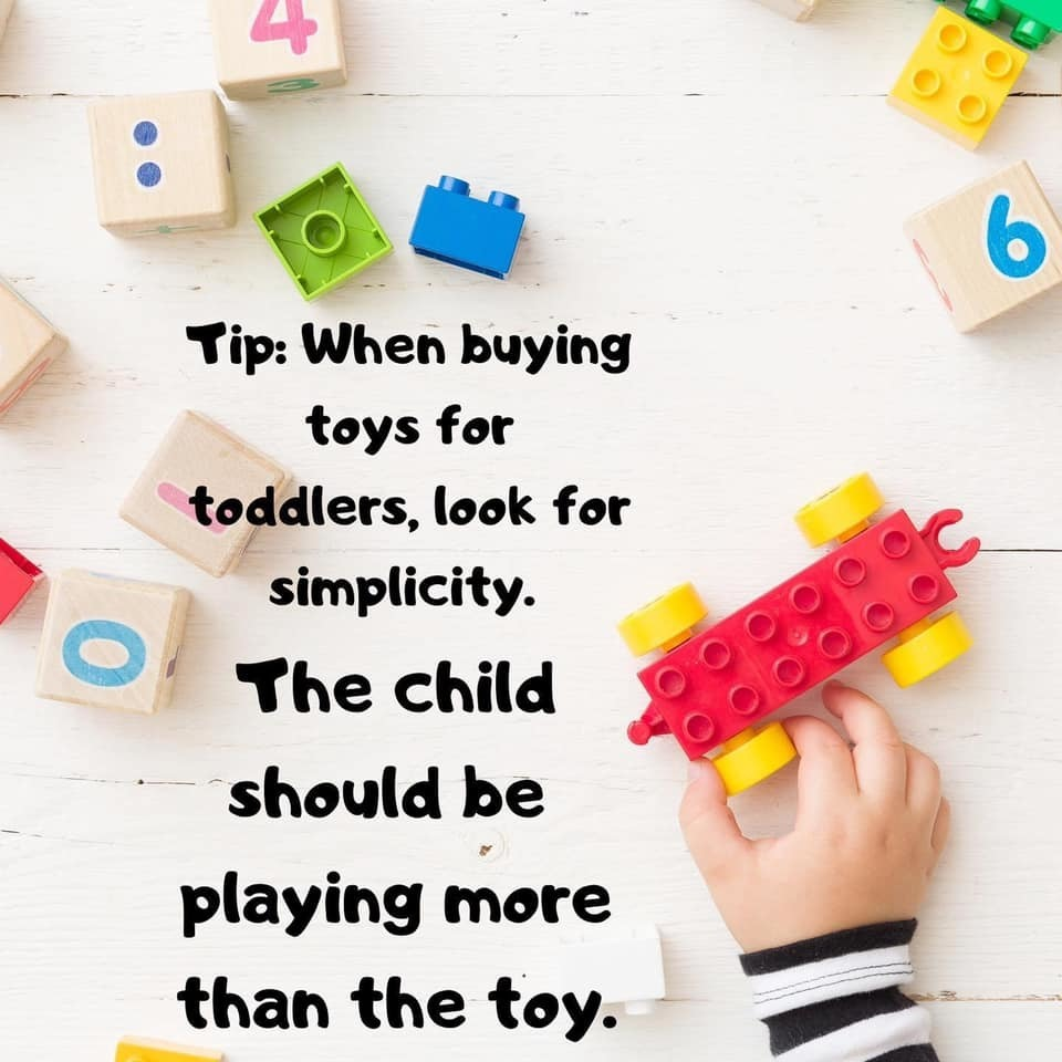 Toddler Toy Tip